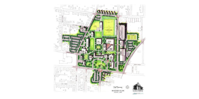 Columbia College Master Plan – drawing 1 – RF