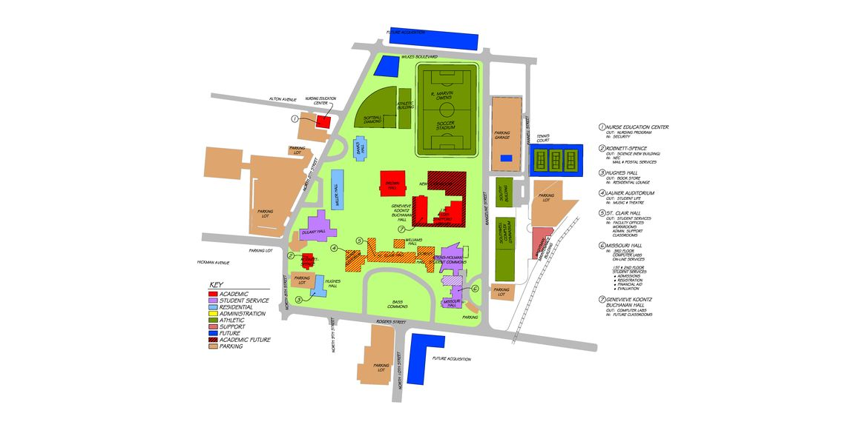 Columbia College Master Plan – drawing 3 – RF