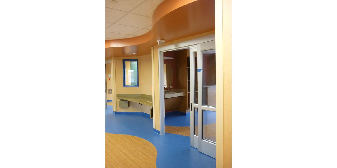 MU Women's and Children's Hospital – Pediatric Intensive Care Unit – int. 2 – RF